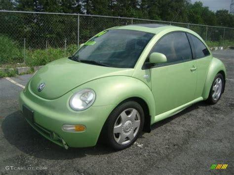 volkswagen green 2000 green volkswagen new beetle gls 1 8t coupe 11355681