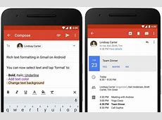 Gmail on Android Update Available on Microsoft Exchange