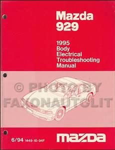 1995 Mazda 929 Body Electrical Troubleshooting Manual Original