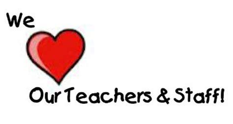 teacher staff appreciation