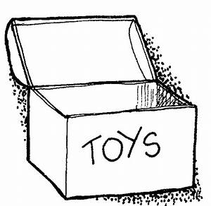 Free coloring pages of toybox