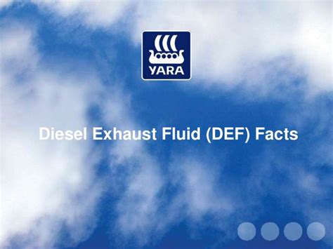 Diesel Exhaust Fluid Facts Facts About Scr Autos Post