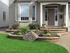 Front of House Landscaping Ideas with Stone