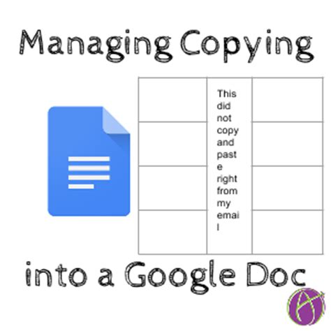 Copy And Paste Google Template by Google Docs Fixing Tables You Copied And Pasted Teacher