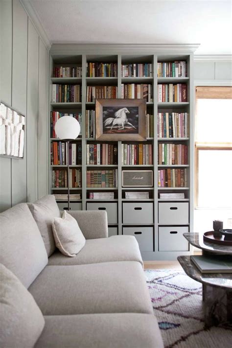 Bookcases For The Home by Built In Ikea Billy Bookcase Hack For The Home
