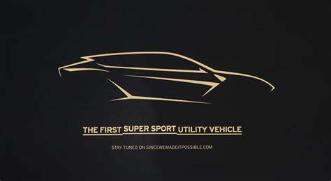 lamborghini super sports utility vehicle llega el  de