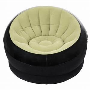 Mobilier Gonflable Exterieur : fauteuil gonflable intex onyx vert salon mobilier gifi ~ Premium-room.com Idées de Décoration