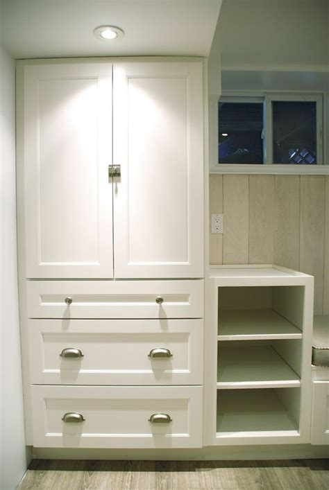 Closet Cabinets by Martha Stewart Cabinet For Bathroom Reno Comes In Gray