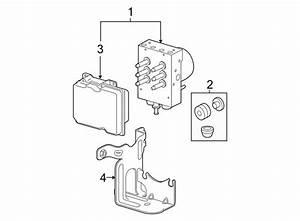Chevrolet Silverado 1500 Abs Control Module Bracket  1  2