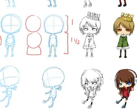 anime chibi tutorial useful chibi style anime drawing tutorials crunch