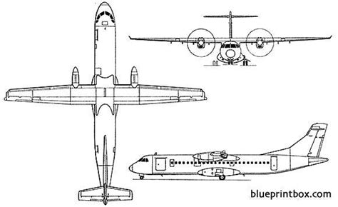 atr  plans aerofred   model airplane plans