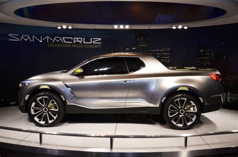 detroit auto show highlights hyundai santa cruz concept evo