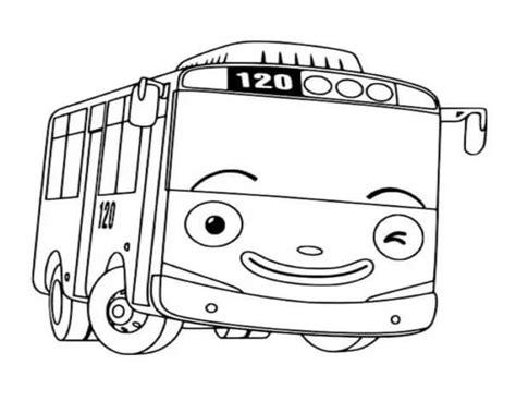 sketsa gambar mewarnai mobil gang bikinnya