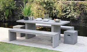 Fabriquer Table Jardin Beton 88 Images Fabriquer Une Table De Jardin ...