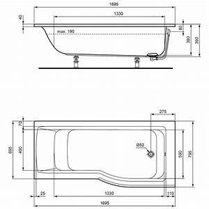 Badewanne Größe Standard : badewanne ideal standard mae kreative ideen f r ~ Sanjose-hotels-ca.com Haus und Dekorationen
