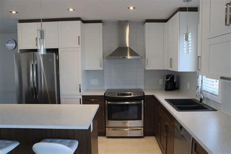 comptoir de la cuisine armoires de cuisine en polyester et mélamine cuisines despro