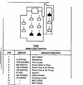 2005 F250 Headlight Wiring Diagram