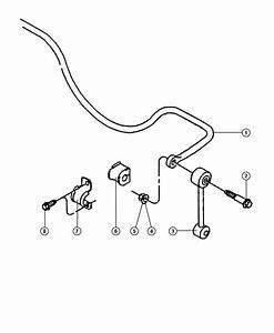 1998 Jeep Wrangler Bar  Rear Sway  Stabilzer