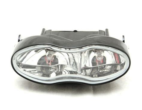 Universal Custom Twin Motorcycle Headlight Streetfighter