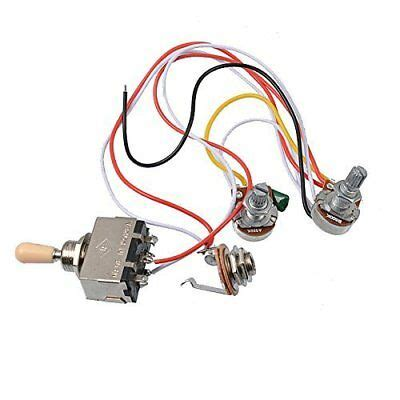 Electric Guitar Wiring Harness Kit Way Toggle Switch