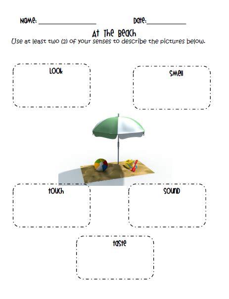 descriptive writing worksheets for grade 2
