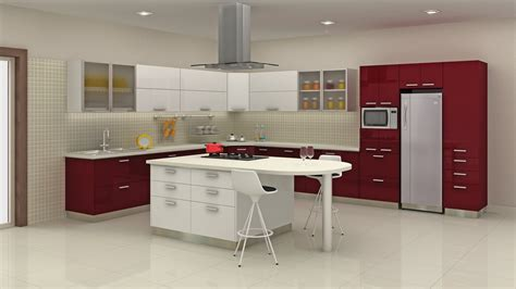Godrej Kitchen Gallery by Godrej Modern Kitchen Alinea Designs