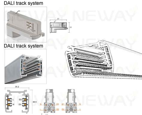 track lighting bulbs types 24w 36w 48w 60w led track light linear led pendant track