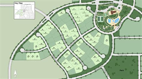 Prosper TX New Construction Homes   Star Trail - Site Plan