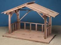 build wood nativity stable  images outdoor