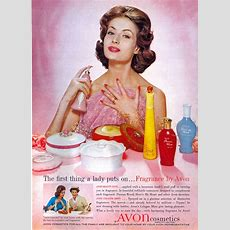 Here's My Heart Avon Perfume  A Fragrance For Women 1957