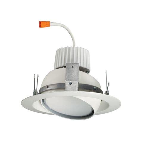 juno recessed lighting juno 6 in white recessed led eyeball retrofit trim module
