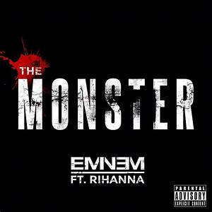 Eminem 39The Monster39 Feat Rihanna CDQ HipHop N More