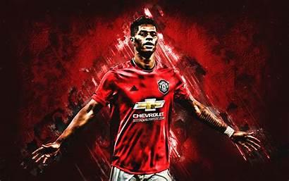Manchester United Rashford Marcus Player Football Portrait