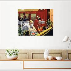Posterlounge Wandbild  Edward Hopper »tische Für Damen