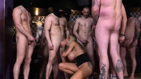 Busty Stripper Used By Group Of Horny Guys Sophie