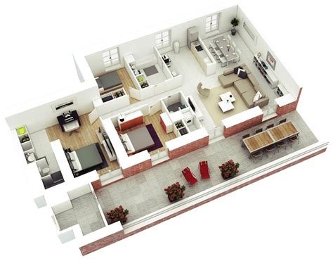 bedroom house layout design plans