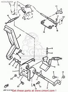 Accelerator Schematic Yamaha G9 Ah Golf Car 1992