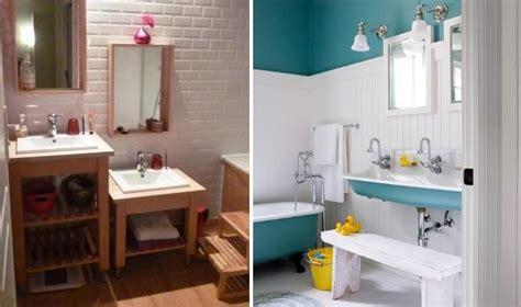 salle de bain amenagee pour enfants lavabo pour enfant