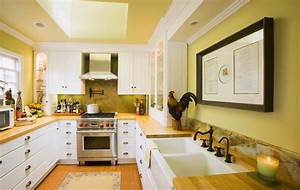 yellow paint colors for kitchen decor ideasdecor ideas With kitchen colors with white cabinets with dwell studio wall art