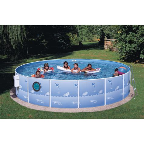 Heritage Pools 12 Ft X 36 In Above Ground Swimming Pool
