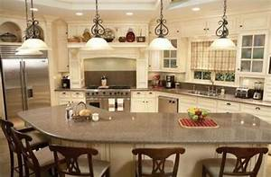 curved l shaped breakfast bar interior design for unique With l shaped kitchen island designs with seating