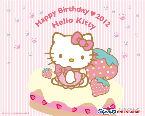 Hello Kitty Birthday Wallpaper