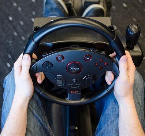 volante per pc con cambio trust gxt 288 volante da corsa a grandezza naturale con