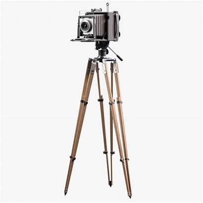 Camera Tripod Fashioned Clipart Clip Cliparts Filming