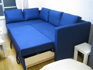 Manstad sectional sofa bed storage from ikea for Sectional sofa with bed and storage