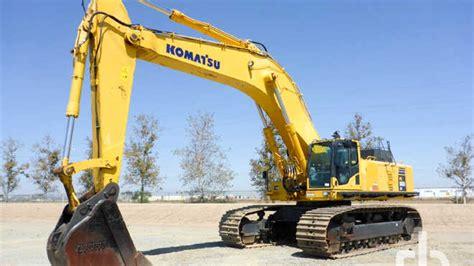 hydraulic excavator  sale ritchie bros