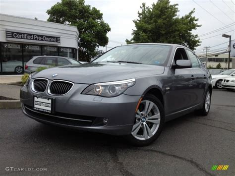 Bmw Space Grey by 2009 Space Grey Metallic Bmw 5 Series 528xi Sedan