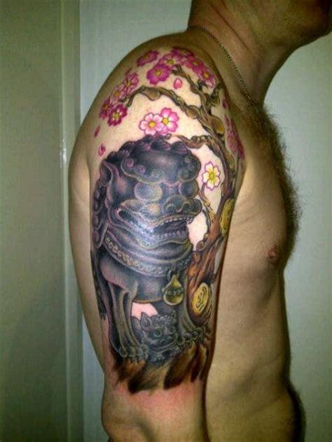 tatouage epaule japonais par bout ink tattoo