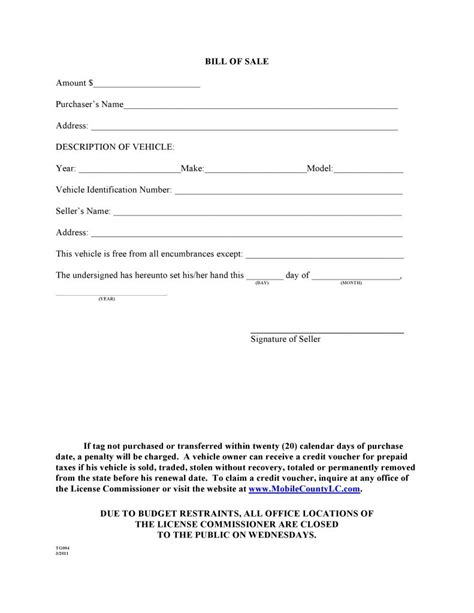bill of sale template alabama free mobile county alabama bill of sale form pdf docx