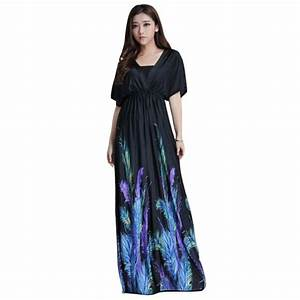 5XL 6XL Long Beach Dress Summer Style Plus Size Clothing ...